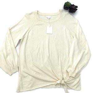🆕Lauren Conrad Tie Pullover